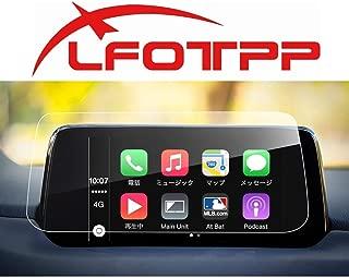 【LFOTPP】マツダ CX-5 2代目 KF ナビゲーション 液晶保護フィルム ガラスフィルム 高感度タッチ 高透明 気泡ゼロ 指紋拭き取りやすい 傷防止 汚れ防止