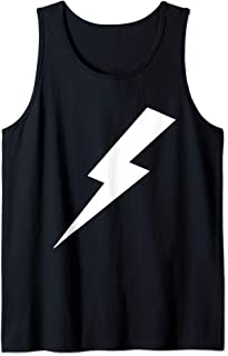 Awesome Lightning Bolt Print Tank Top