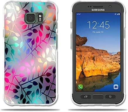 5be7f42f5d4 Funda Samsung Galaxy S7 Active-FUBAODA-3D Realzar, Hermoso Dibujo de  Vidriera con