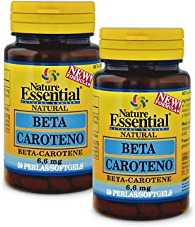 Beta-caroteno 8,2 mg 50 perlas. (Pack 2 unid.)…