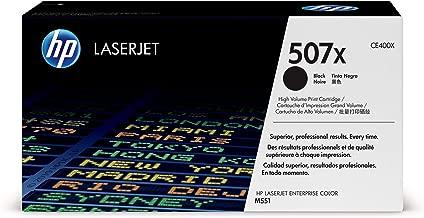 HP 507X   CE400X   Toner Cartridge   Black   High Yield