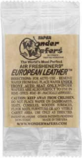 Wonder Wafers 3060 European Leather Scent Car Truck Air Freshener Wafer - 50 Pack