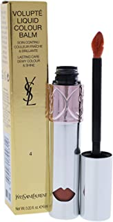 Yves Saint Laurent Volupte Liquid Colour Balm - 4 Spy On Me Nude, 6 ml