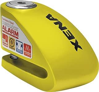 Xena XX-6 Disc Lock with Alarm - Yellow