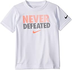 Never Defeated Dri-FIT™ Short Sleeve Tee (Toddler)