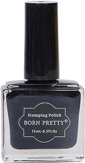 Born Pretty Nail Stamping Nail Polish (Black)