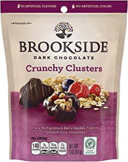 BROOKSIDE Dark Chocolate Crunchy Clusters, Berry Medley, 5 Ounce