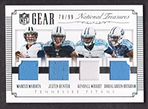 2015 national treasures football box
