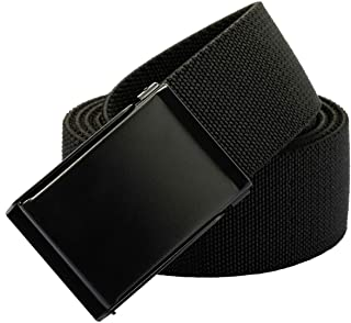 Sportmusies Elastic Belts for Men, Military Style Stretch Webbing Tactical Duty Belt