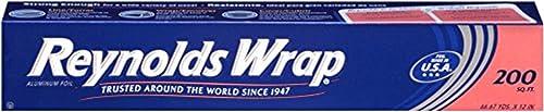 Reynolds Wrap Aluminum Foil, 200 Square Feet