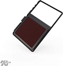 K&N engine air filter, washable and reusable: 2004-2011 Toyota Prius 33-2329