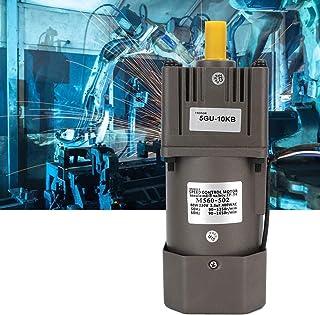KEKEYANG Gear Velocidades Reductor, 4 Polos Reversible Ajuste Continuo Velocidades Reducción Motor M560-502 60W 220V AC for la Industria Propósitos (10K) Industrial
