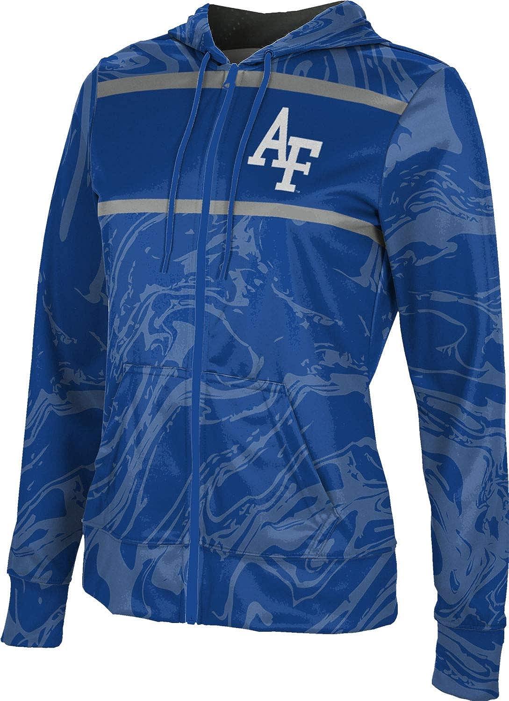 ProSphere U.S. Air Force Academy Girls' Zipper Hoodie, School Spirit Sweatshirt (Ripple)