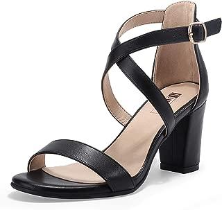 IDIFU Women's Comfy Wedge Platform Thong Sandals