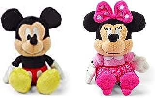 Kids Preferred Mickey and Minnie Mouse Mini Jingler Plush Toy