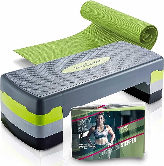 1598 opinioni per Body & Mind® bordo aerobico passo Elite 3 step panchina passo passo-passo con