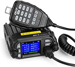 QYT KT-8900D 25W Dual Band Mini Mobile Transceiver Two-Way Radios UHF VHF Quad standby Amateur Car Radio with Extra Speaker