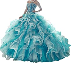 Yang New Women 3 Pieces Removeable Skirt Ball Gowns Sweet Girls 16 Quinceanera Dresses