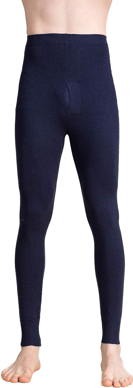 CLC Men's Silk Cashmere Thermal Underwear Long John Base Layer Bottom