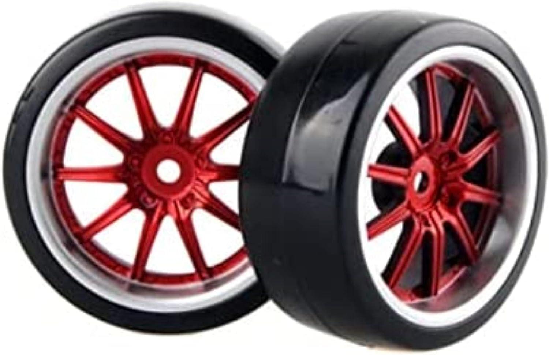 Youmine 4pcs Brand new 1 10 Drift Car Hard Tires Wheel Regular dealer Plastic Rim 2664MM