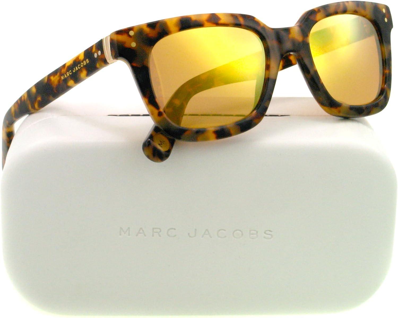 Marc Jacobs MJ437 S Sunglasses04GX Havana (ET gold Mirror Lens)50mm