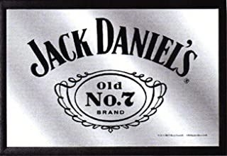 Jack Daniels Whiskey Old No.7 Nostalgia Espejo de BAR Espejo