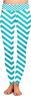 Queen of Cases Chevron Stripes Yoga Leggings XS-3XL