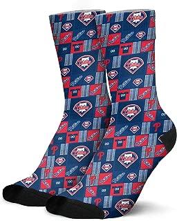Mens Novelty Funny Socks Moisture Wicking Non Skid Warm Running Hiking Athletic Work Crew Socks