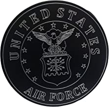 """product image for HMC Billet United States Air Force Aluminum 4"""" Laser Engraved Trailer Hitch Cover"""