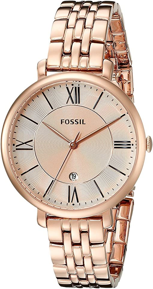 ES3435 Rose Gold Stainless Steel