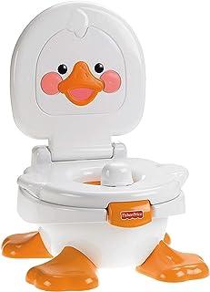 Fisher-Price Orinal Cuá Cuá 3 en 1, orinal para bebé +9 meses (Mattel T6211)