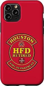 iPhone 11 Pro HOUSTON FIRE DEPARTMENT RETIRED EMBLEM Case