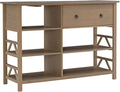 Linon 86165GRY-01-KD-U Media Center, Driftwood