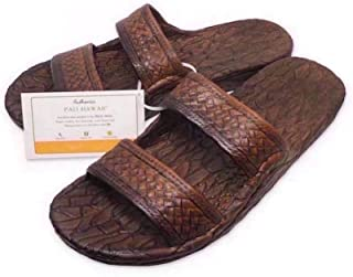 Pali Hawaii Light Brown JANDAL + Certificate of Authenticity