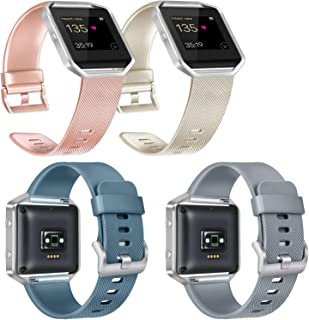 Replacement Bands Compatible with Fitbit Blaze, Not Included Fitbit Blaze and Frame