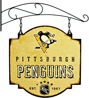 Winning Streak NHL Pittsburgh Penguins Vintage Tavern Sign