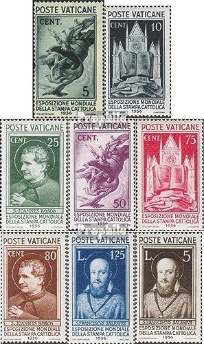 precioso Prophila sellos para para para coleccionistas  ciudad del Vaticano 51-58 (completa.edición.) nuevo con goma original 1936 exposición universal  Ven a elegir tu propio estilo deportivo.