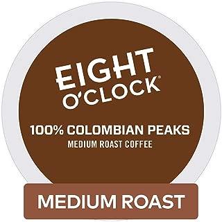 Eight O'Clock Coffee Colombian Peaks Keurig Single-Serve K-Cup Pods, Medium Roast Coffee, 72 Count