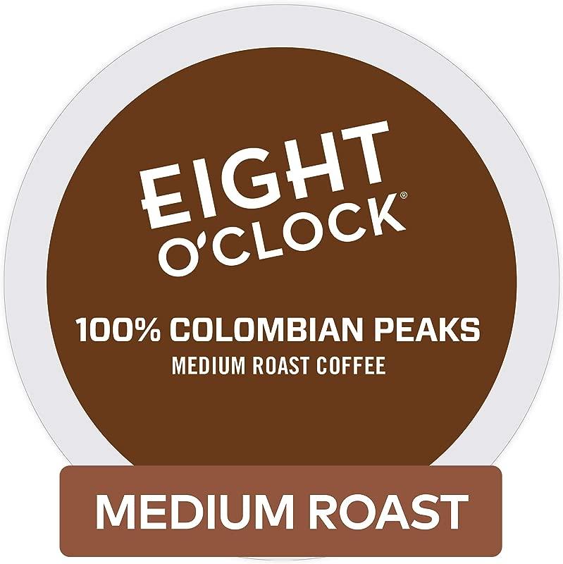 Eight O Clock Coffee 100 Colombian Peaks Single Serve Coffee K Cup Pod Medium Roast 72