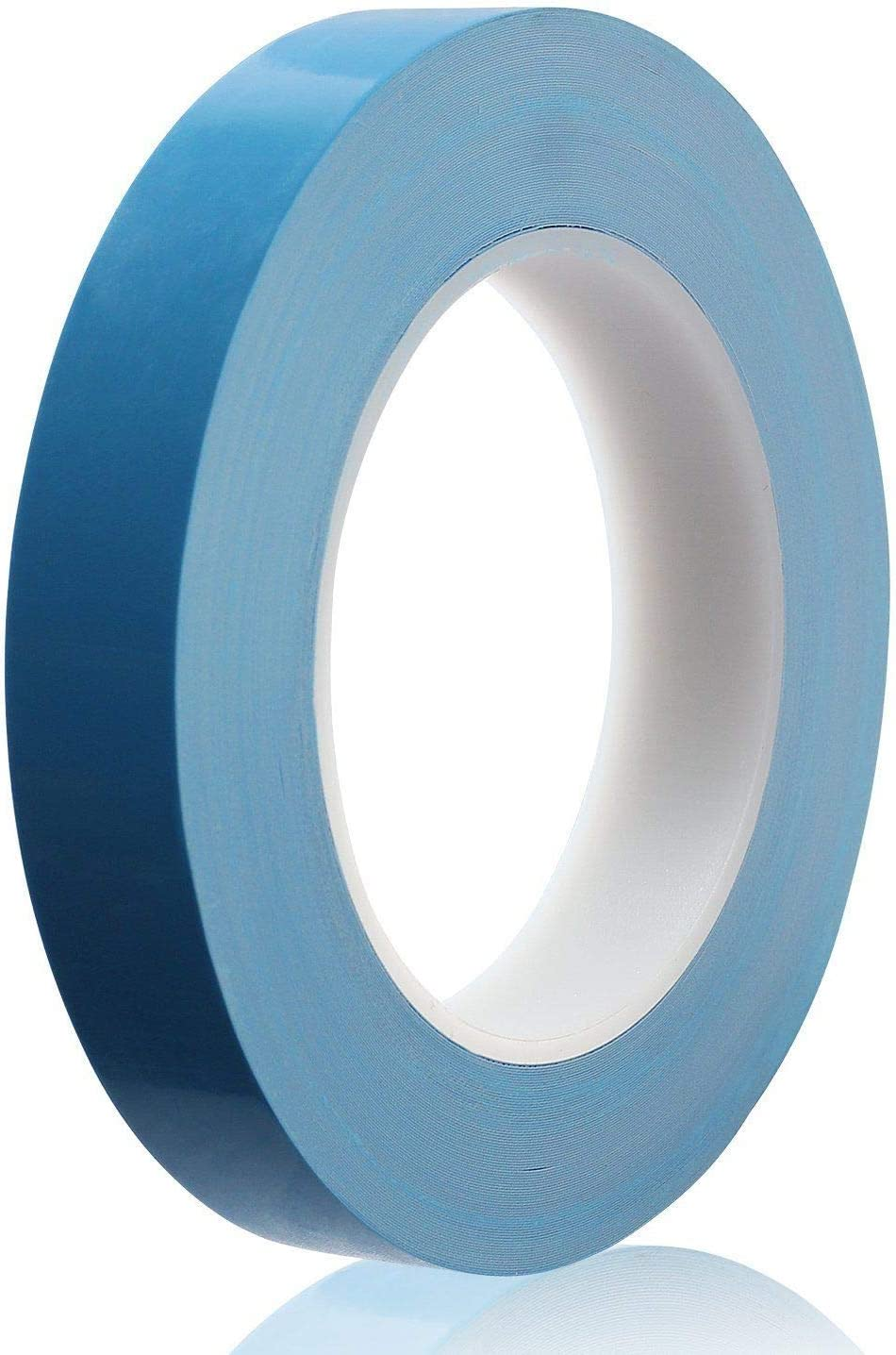 Atsani 15mm x 25M x 0.25mm Thermal Adhesive Tape,High Performance Thermal Double Side Tapes Cooling Pad Apply to Heatsink,LED,IGBT MOS Tube,SSD Drives IC Chip,Computer CPU,GPU,Modules