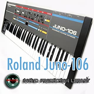 from Roland Juno-106 - The King of Analog - Large Unique Wave/Kontakt Studio Samples Library on DVD or Download