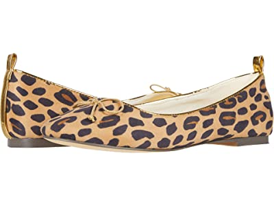 crewcuts by J.Crew Cat Leopard Ballet Flat (Toddler/Little Kid/Big Kid) (Tan/Black/Pecan) Girl