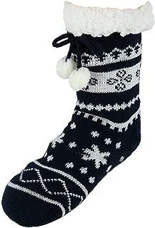 Children's Faux Sherpa Lined Slipper Socks