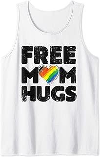 Free Mom Hugs Shirt, Free Mom Hugs Inclusive Pride LGBTQIA Tank Top