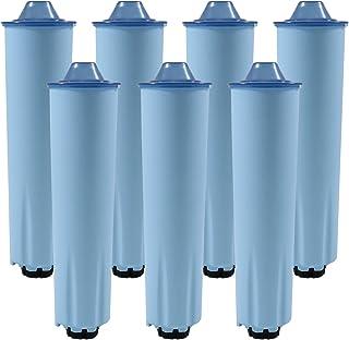 7x Cartouche filtre à eau pour machines à café des Jura Cartouche de filtre (Blue)