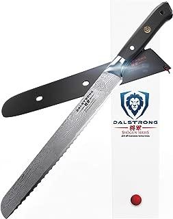 DALSTRONG Bread Knife - Shogun Series - Damascus - Japanese AUS-10V Super Steel - 10.25