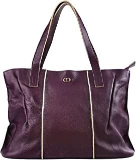 CHERRY CHICK Women's Genuine Leather Handbag Large Tote Oversize Purse Hot Gift Idea