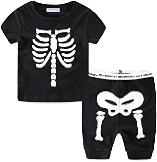 skeleton boy shorts