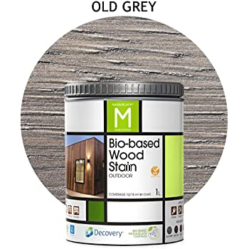 Barniz Madera Exterior | Bio-based Wood Stain | 1L | para todo tipo de madera