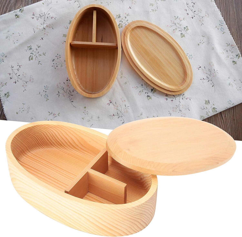 KAKAKE Bento Box, Fiambrera portátil Desmontable con diseño de 3 Compartimentos, Exquisita Mano de Obra, Buen Aislamiento para el Trabajo, la Escuela, para niños y Adultos